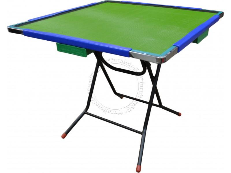 (FurnitureSG) Mahjong Table (Aluminium Rim)
