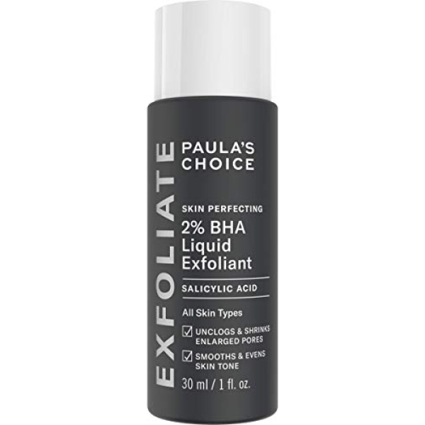 Buy Paulas Choice Skin Perfecting 2% BHA Liquid Salicylic Acid Exfoliant, Gentle Facial Exfoliator for Blackheads, Large Pores, Wrinkles & Fine Lines, Travel Size, 1 Fluid Ounce - PACKAGING MAY VARY Singapore