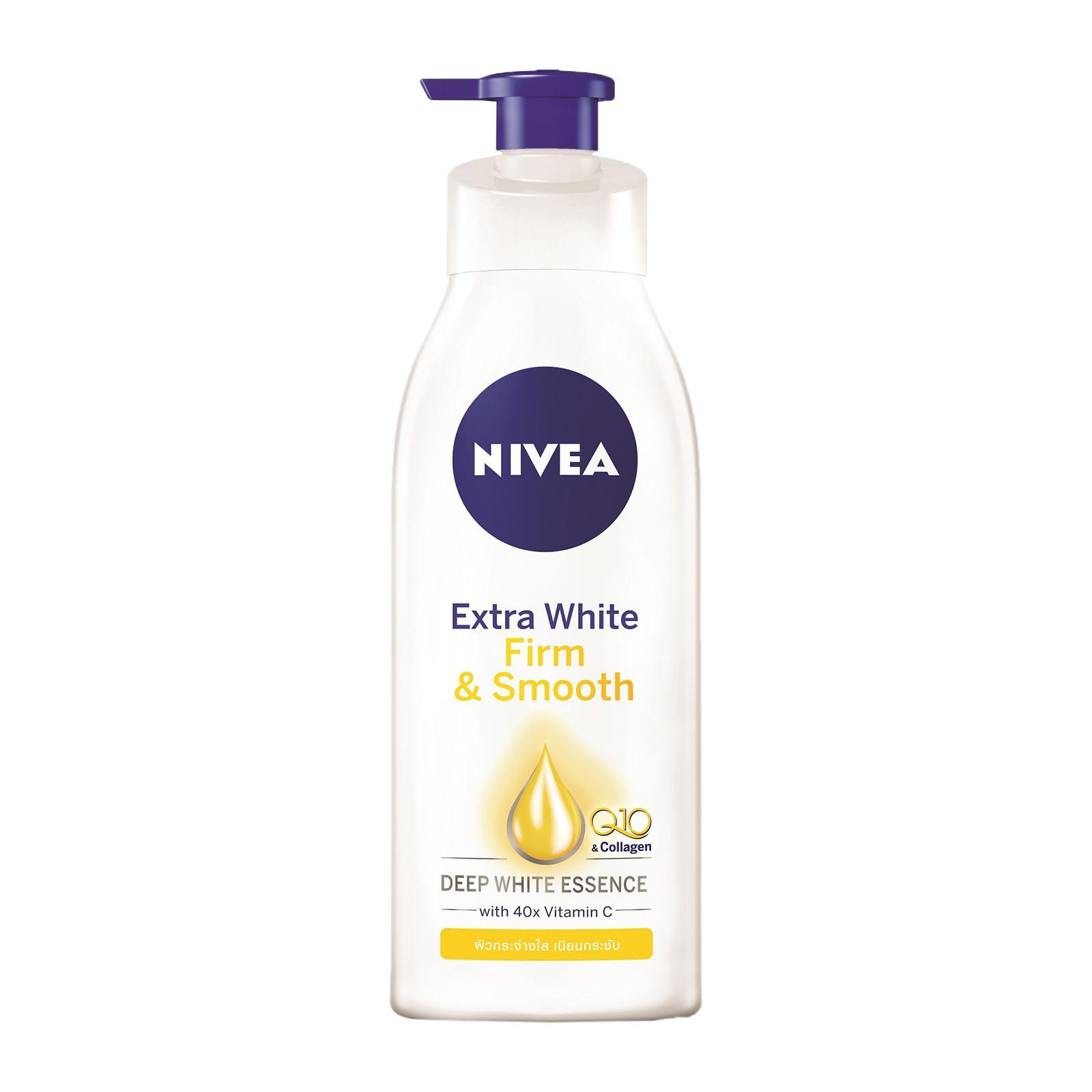 Nivea Body Care Unisex Extra White Firm and Smooth Lotion Q10