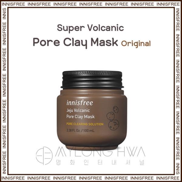 Buy [Innisfree] Jeju Volcanic Pore Clay Mask Face Pack [ Original ] 100ml Singapore