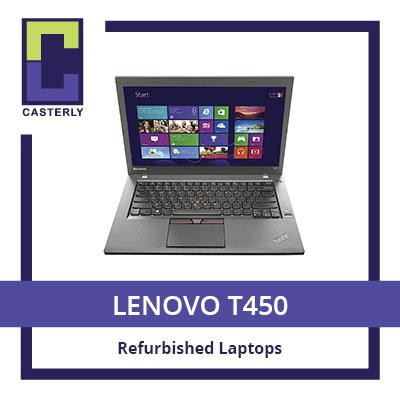 [Refurbished] LENOVO T450: Professional Ultrabook 14 / Intel Core i5 / 8GB RAM / 180GB SSD (WIN10) / 3 Months Warranty