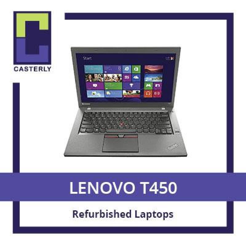 [Refurbished] LENOVO T450: Professional Ultrabook 14 / Intel Core i5 / 8GB RAM / 180GB SSD (WIN10) / 3 Months Warranty