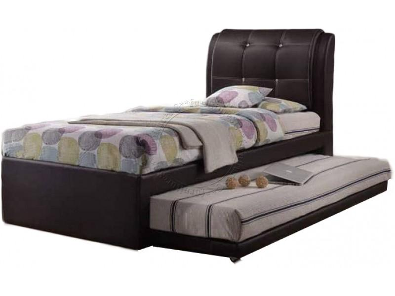 Single size 2 in 1 Faux Leather Bedframe