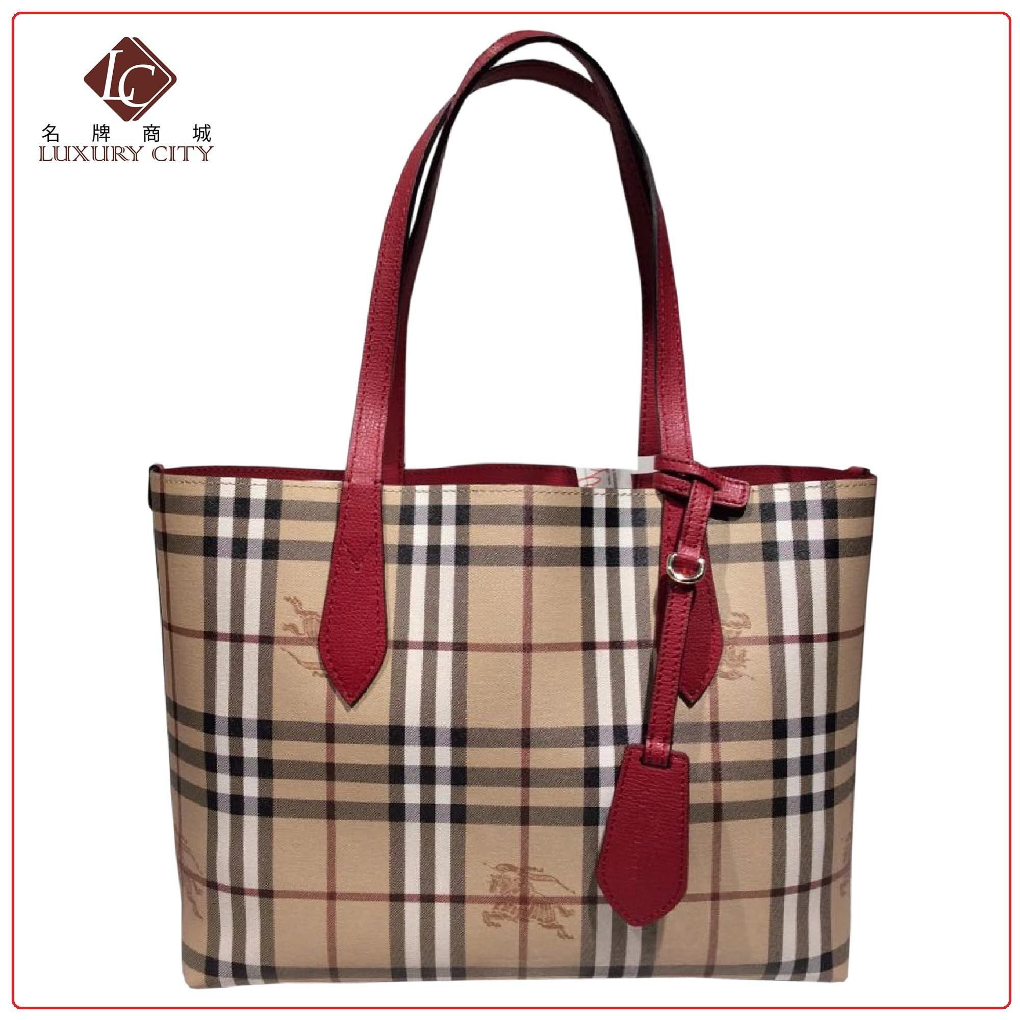 9951a00a8323 PRELOVED AUTHENTIC BURBERRY REVERSIBLE TOTE BAG