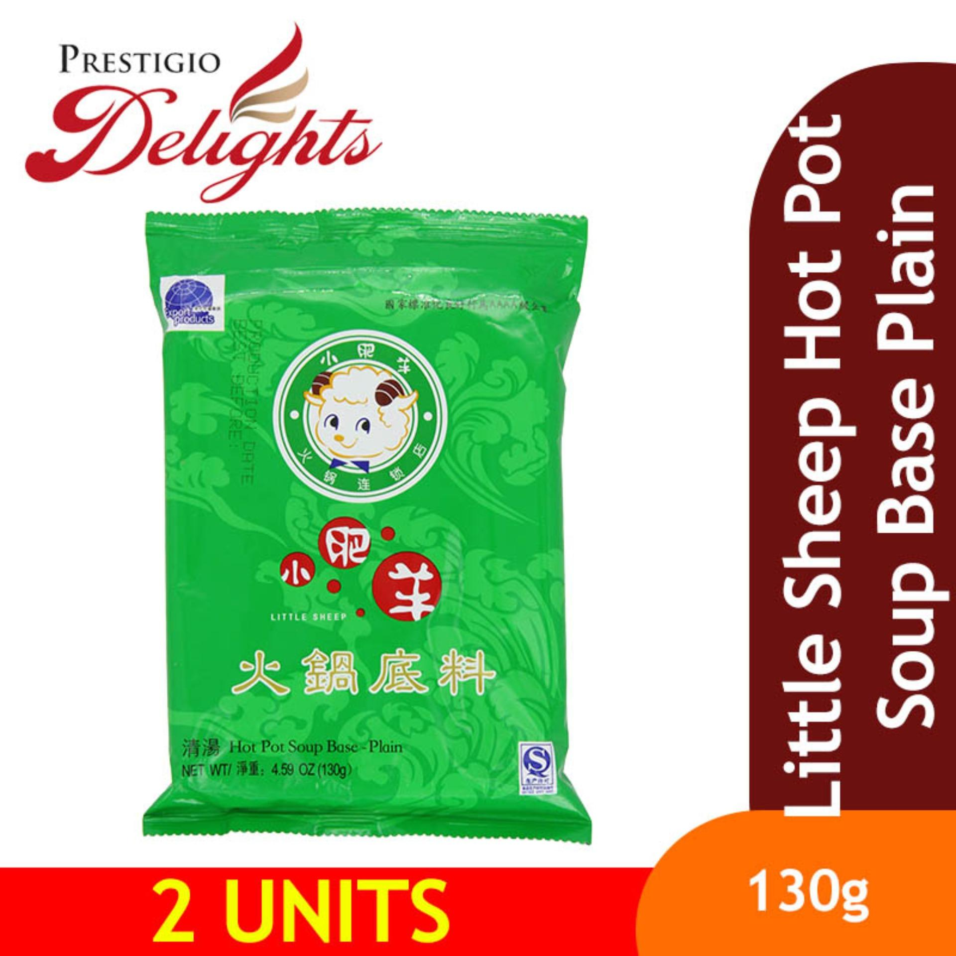 Little Sheep Hot Pot Soup Base Plain 130g Bundle Of 2 By Prestigio Delights.