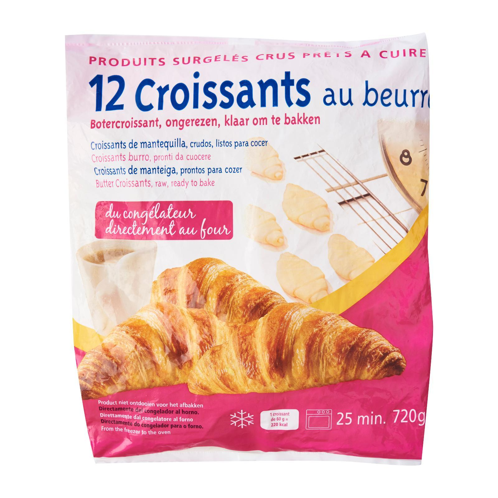 Bakehouse Bake Up French Butter Croissant - Frozen By Redmart.