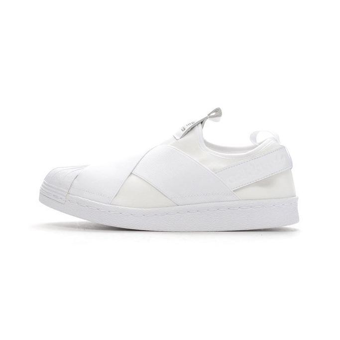 Adidas_S81338_Superstar Slip On Women SHOES SNEAKERS(White)