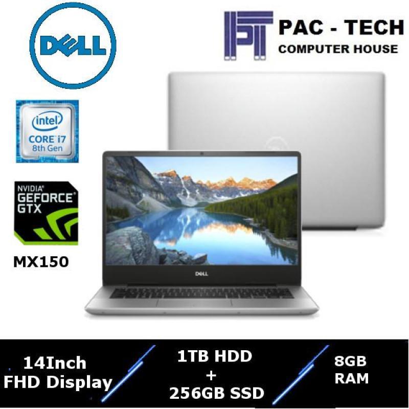 !!Dell Inspiron 5000!! Inspiron 5480-856812G-W10 / 14 Full HD (1920 X 1080) / Intel 8th Generation Processor / 8GB RAM / 1TB HDD + 128GB SSD / Nvidia Geforce MX150  / 1 Year Dell Premium Support