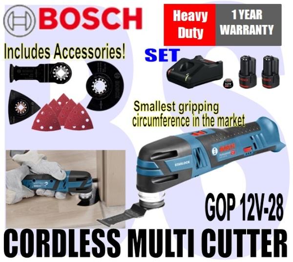 [BIRTHDAY SALE] BANSOON BOSCH Cordless Multi-Cutter. GOP 12V-28. trimming. adjusting. repairing. Heavy Duty. 1 Year Warranty.