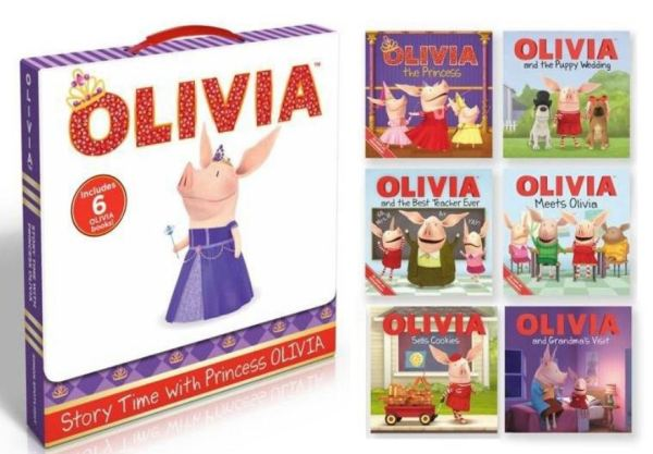 [SG READY STOCK] [6 BOOKS[ STORY TIME WITH PRINCESS OLIVIA