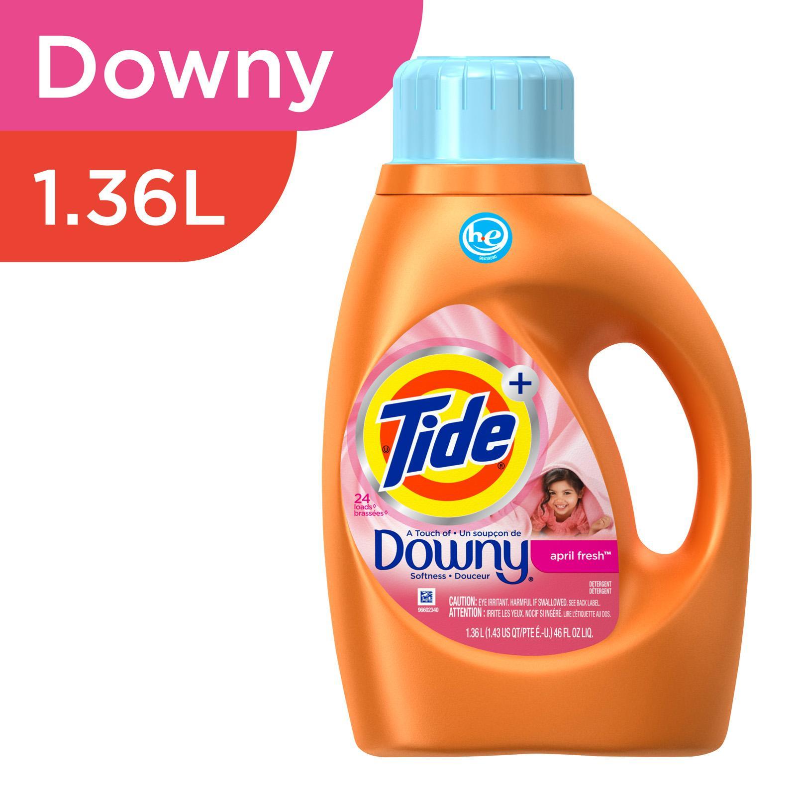 Tide Downy April Fresh Scent High Efficiency Liquid Laundry Detergent