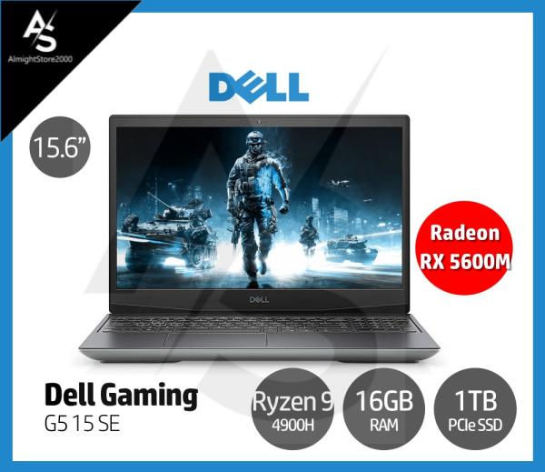 Dell G5 15 SE 15.6 Inch Full HD 144Hz Refresh Rate Gaming Laptop AMD Ryzen 9-4900H 16GB DDR4 RAM 1TB PCIe SSD AMD Radeon RX 5600M 6GB GDDR6