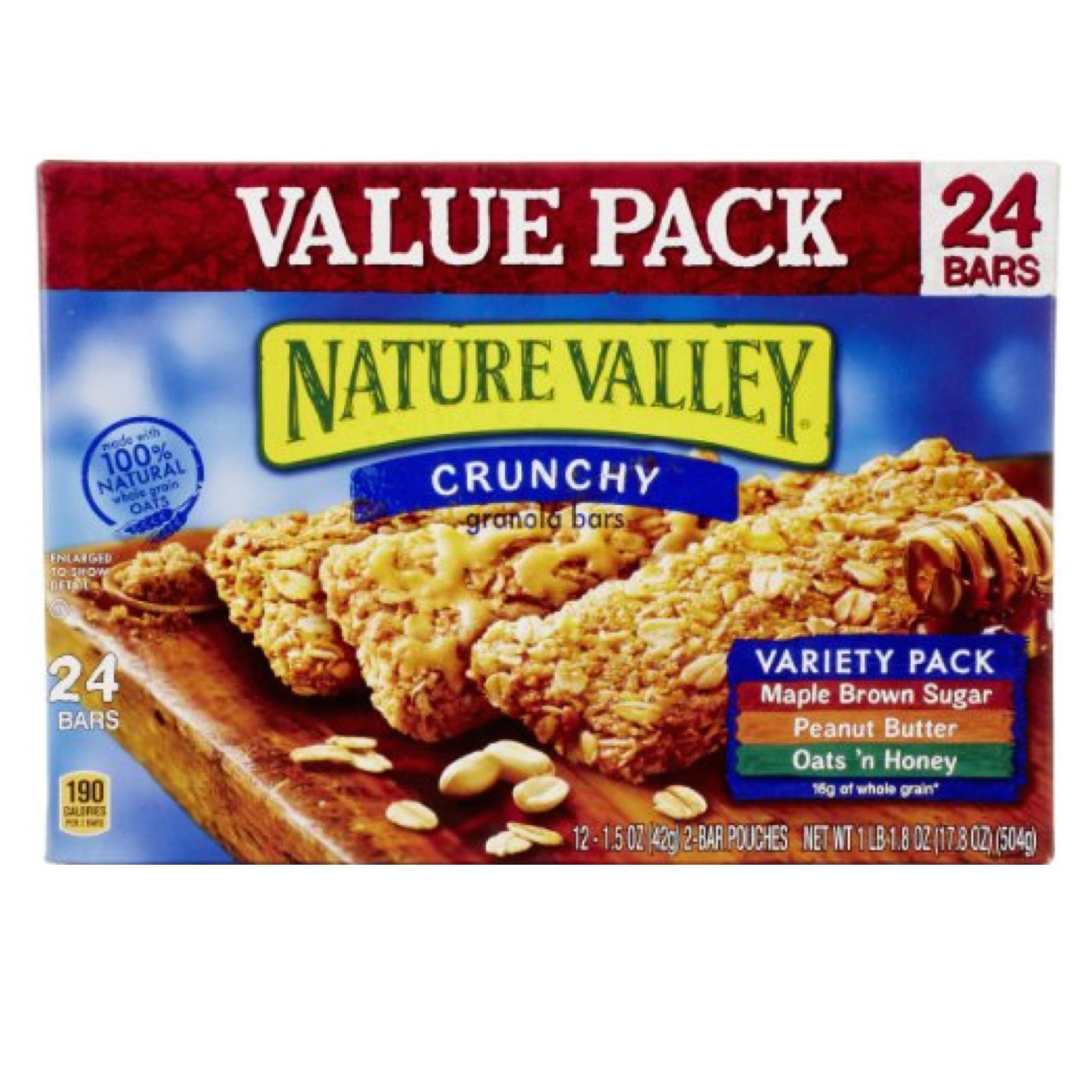 Nature Valley Crunchy Variety Pack Granola Bars