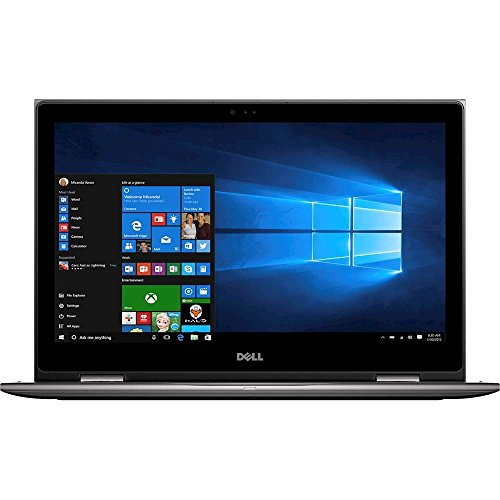 Dell - Inspiron 2-in-1 15.6  Touch-Screen Laptop - Intel Core i7-16GB RAM - 512GB SD - Gray