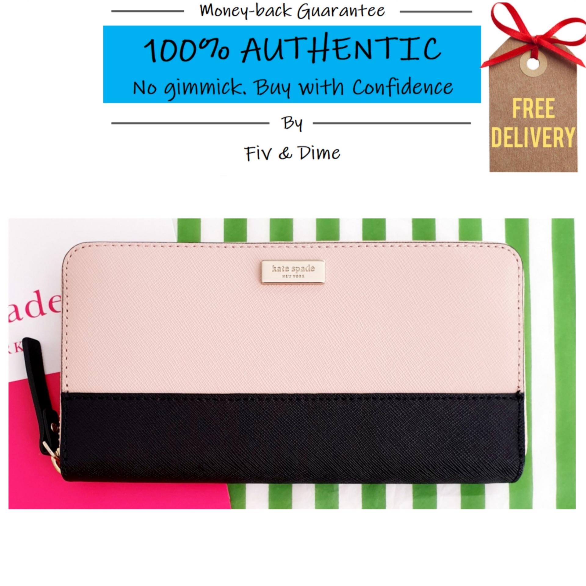 Kate Spade Laurel Way Neda Large Zip Around Wallet Style No. WLRU3020