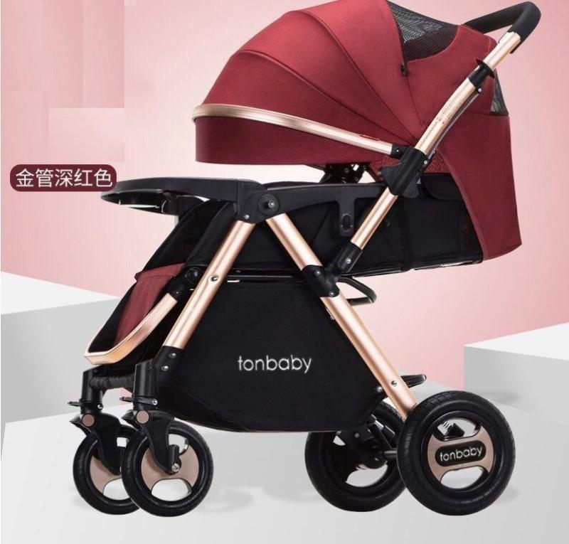 ML Baby stroller TON Baby front/back facing foldable compact heavy duty lay flat Singapore