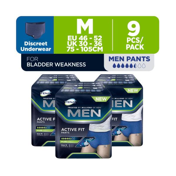 Buy TENA Official Store - TENA Men Active Pants M 9s (Bundle of 3) Singapore