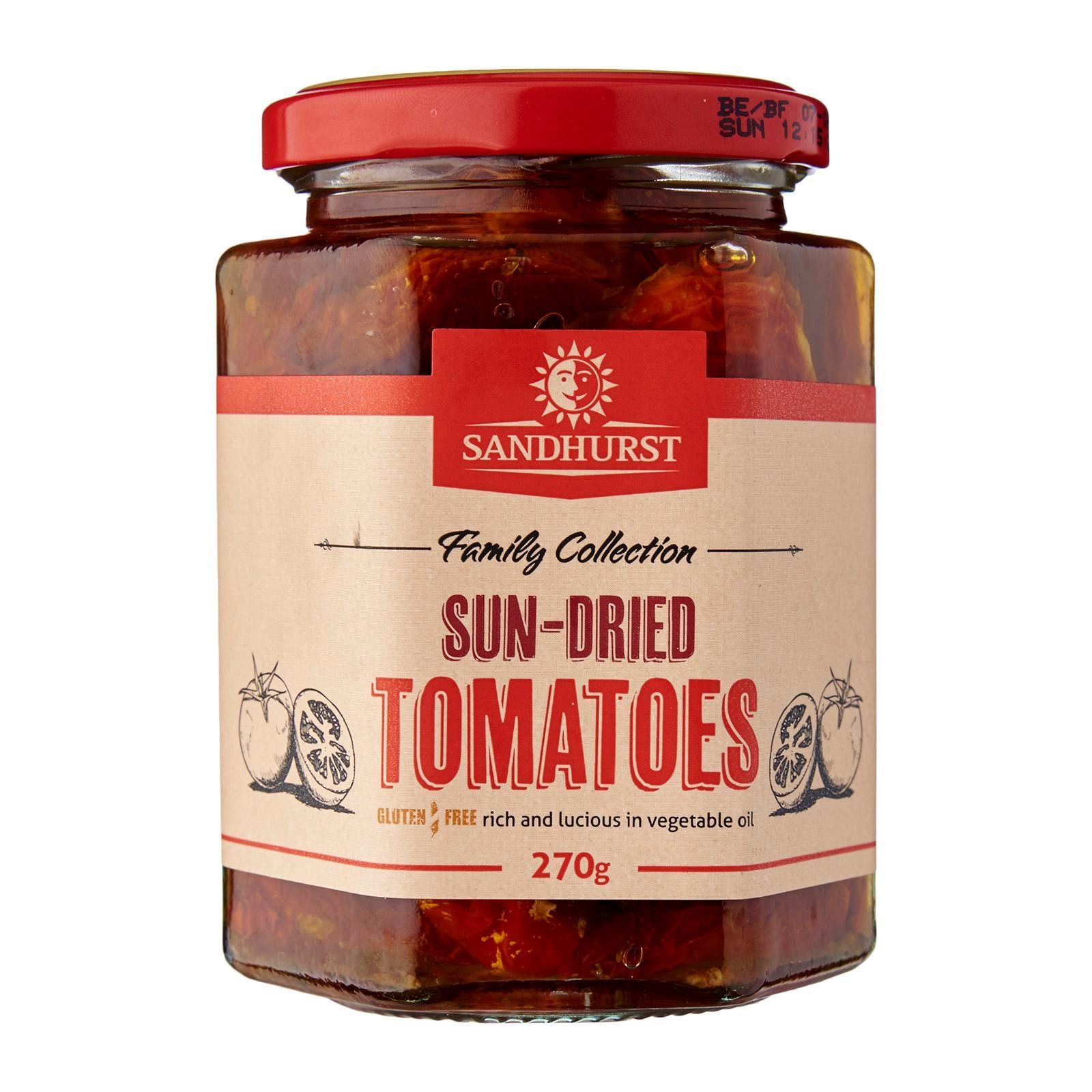 Sandhurst Sun Dried Tomatoes By Redmart.
