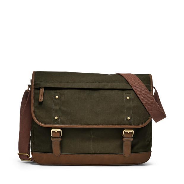 Fossil Buckner Brown Messenger Bag MBG9448318
