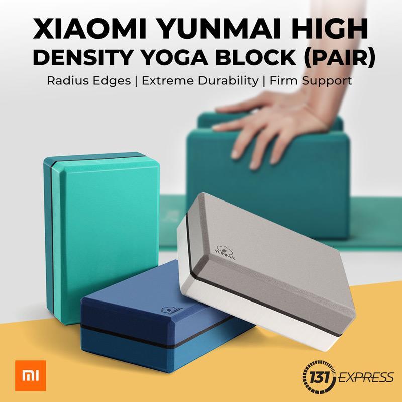 Xiaomi Yunmai High Density Yoga Block (pair) By 131express.sg.
