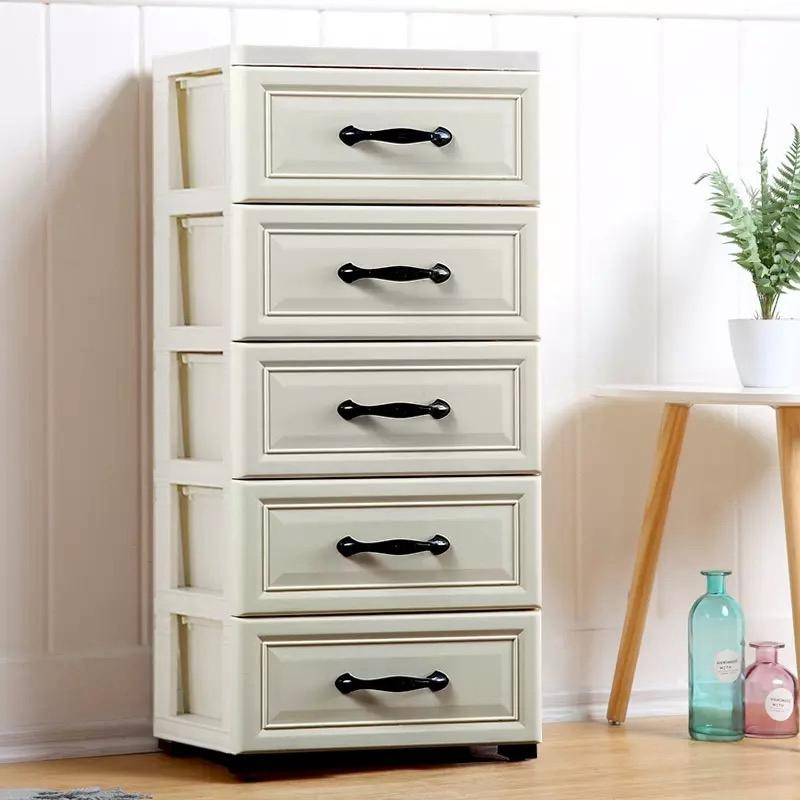 32/38/42 Wide between Storage Cabinets Clothes Plastic Bedside Table Drawer-type Bathroom Bedroom Cabinet Storage Box