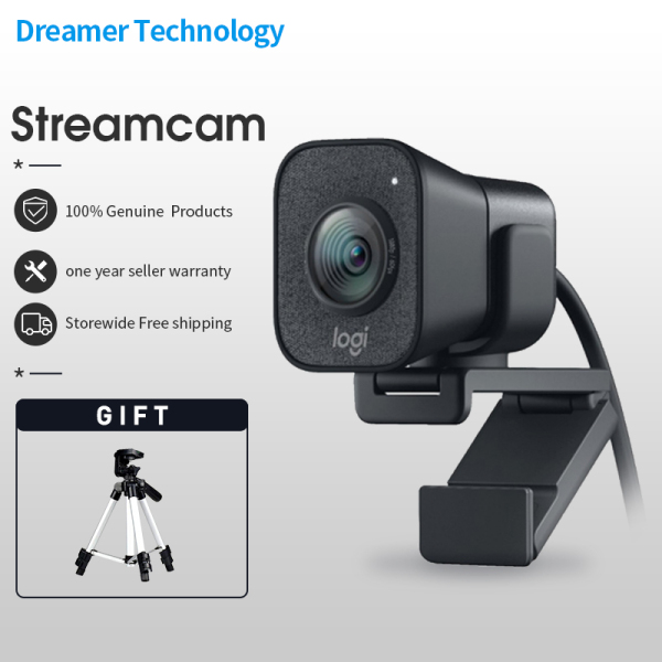 Logitech StreamCam 1080P web cam streaming Computer Camera Auto Focus full Hd webcams with Type-c
