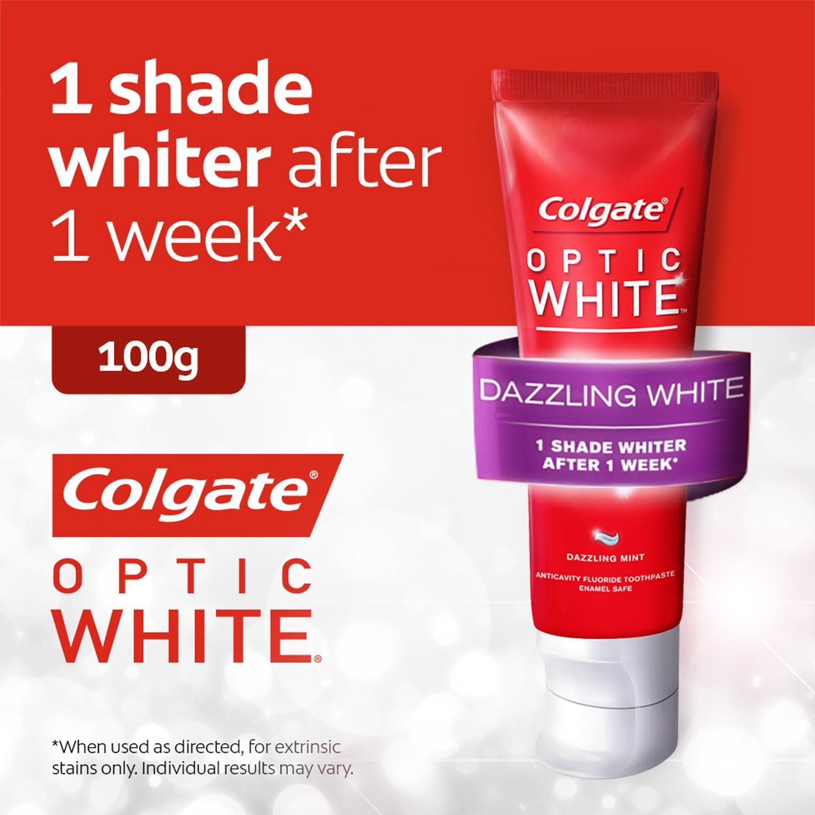 Colgate Optic White Whitening Dazzling White Toothpaste