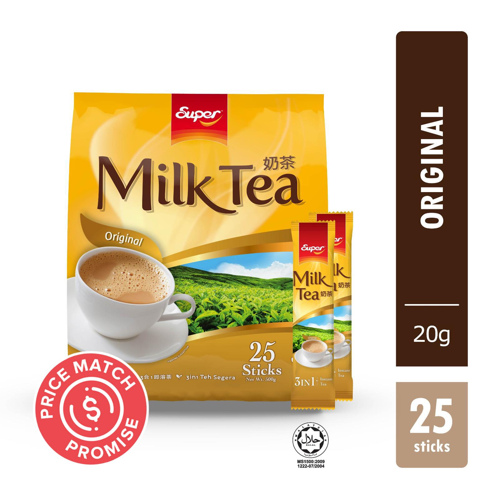 SUPER Instant Milk Tea 3-In-1 Original 25sX20g