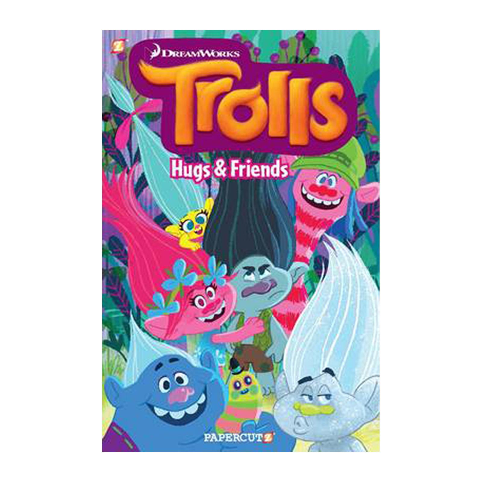 Trolls Graphic Novel Volume 1: Hugs And Friends (Paperback)
