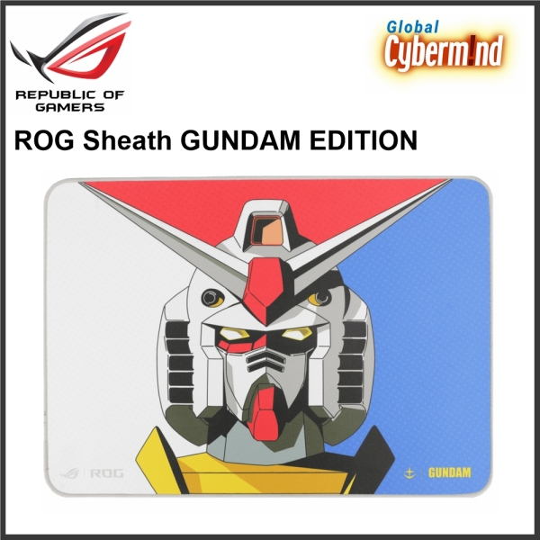 ASUS ROG Sheath GUNDAM EDITION Gaming Mouse Pad (Brought to you by Global Cybermind)