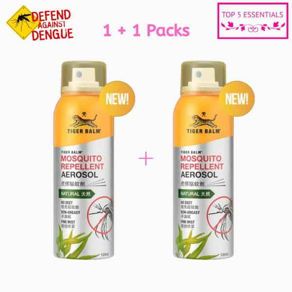 Buy FREE SHIPPING!! Tiger Balm Mosquito Repellent Aerosol Spray 120ml Singapore