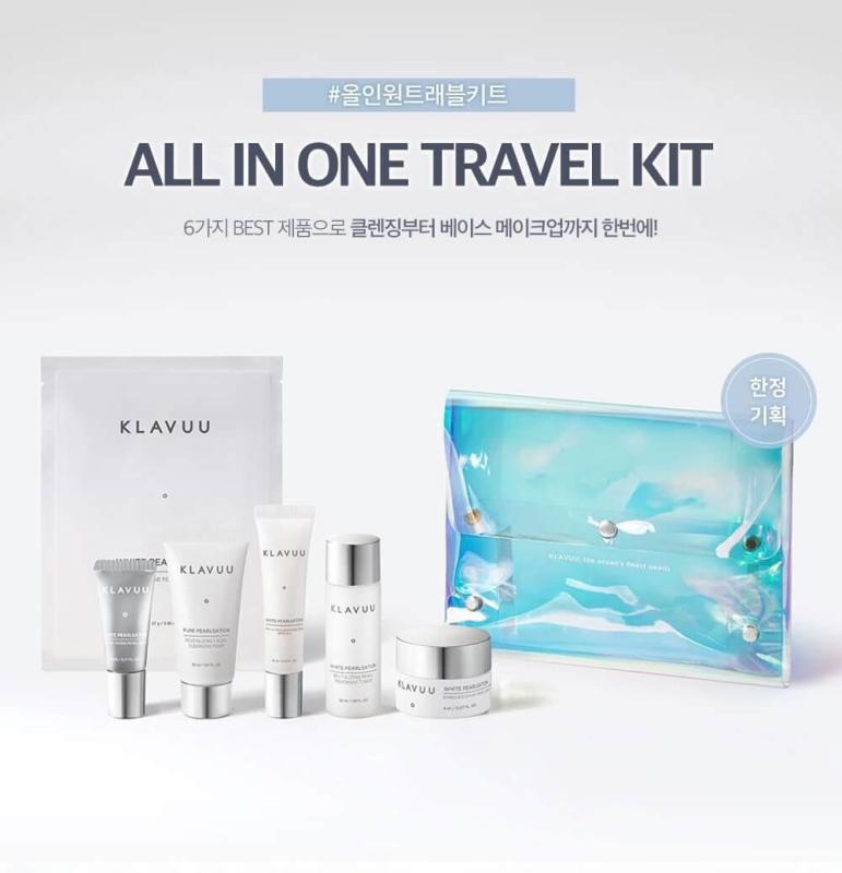 Buy Klavuu All In One Travel Kit (6 items) - MissDewy Singapore