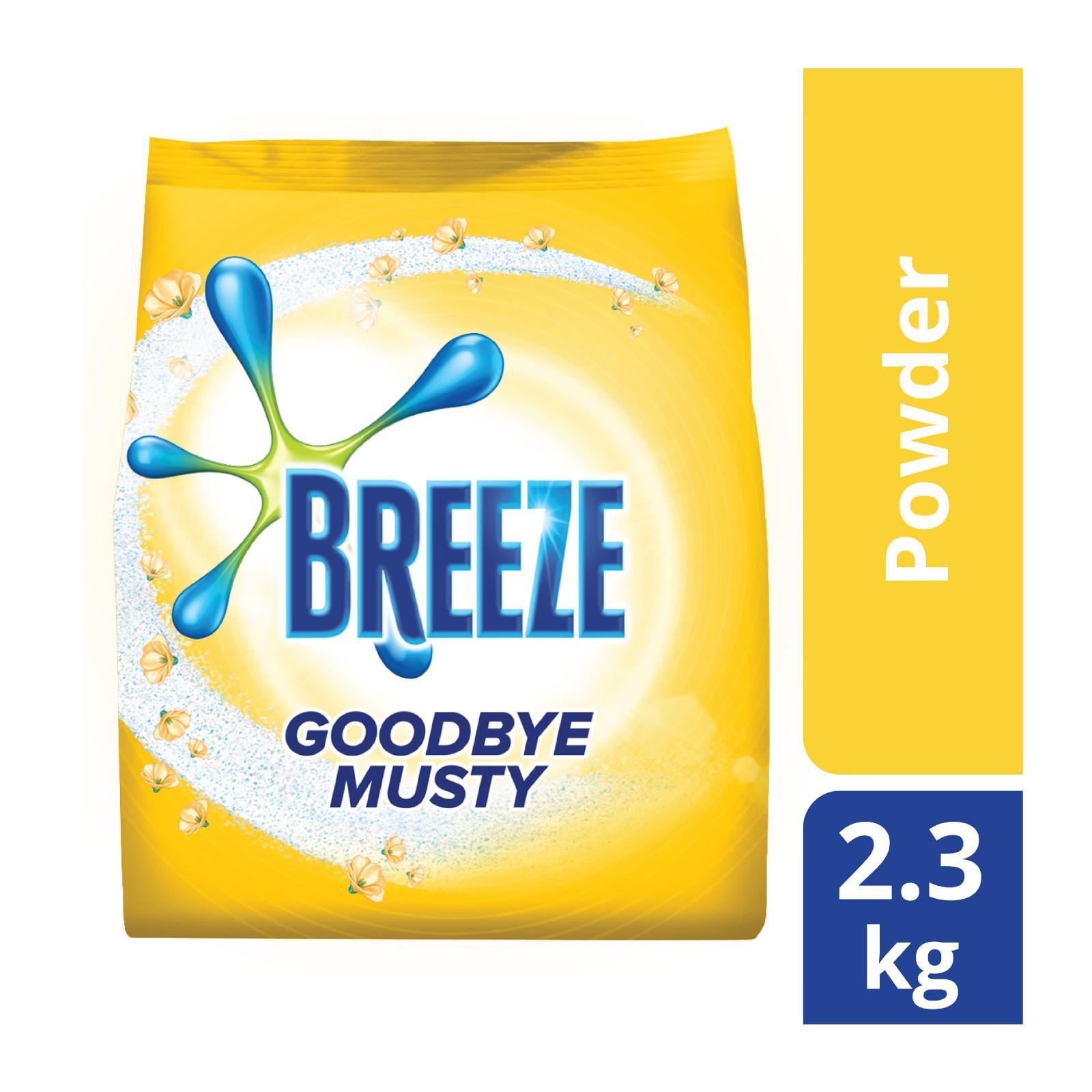 Breeze Goodbye Musty Indoor Drying Powder Detergent