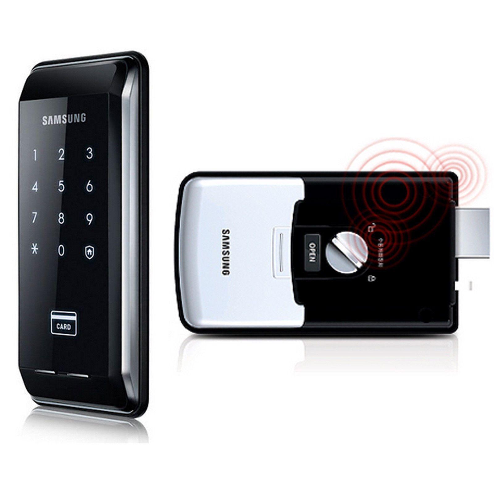 Samsung Digital Door Lock SHS-2920 Ezon Black keyless Security English Manual