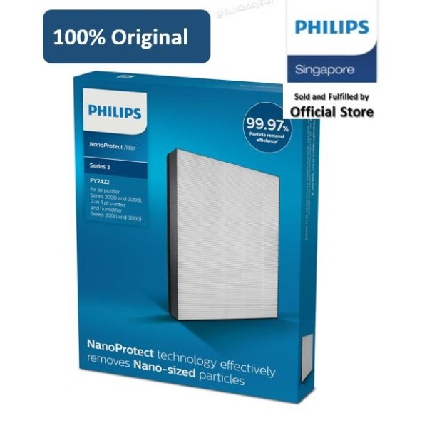 Philips FY2422/30 NanoProtect filter HEPA for AC2882, AC2885, AC2887, AC2889, AC2892 Singapore
