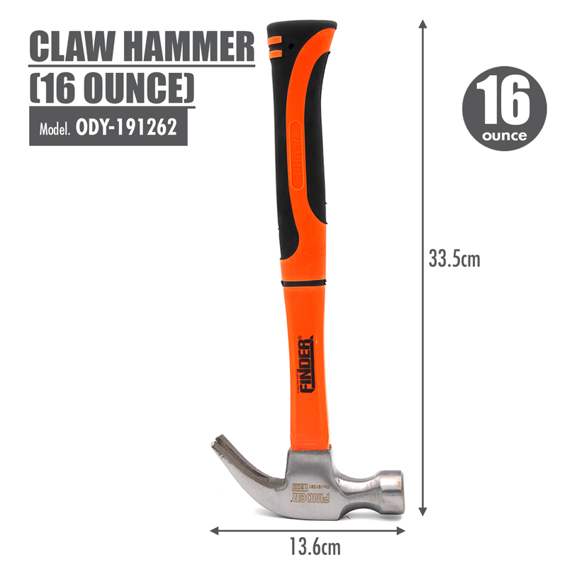 FINDER - Claw Hammer (16 Ounce)