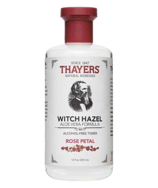 Buy Thayers Witch Hazel Alcohol-Free Witch Hazel Facial Toner With Aloe Vera Formula - Rose Petal Singapore