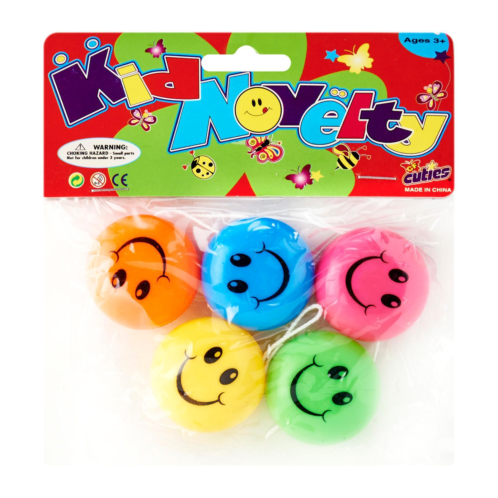 Partyforte Smile Yoyo 4S Toy Packs