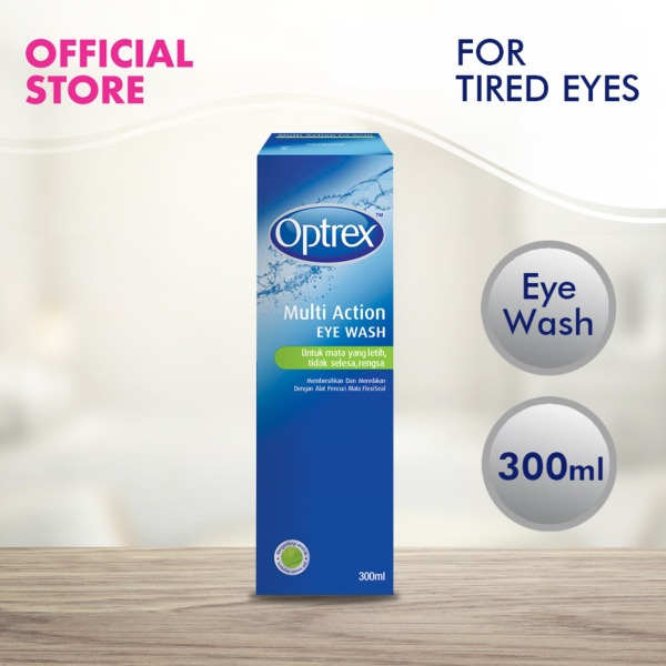 Buy Optrex Eye Wash for Tired and Irritated Eyes - 300ml Singapore