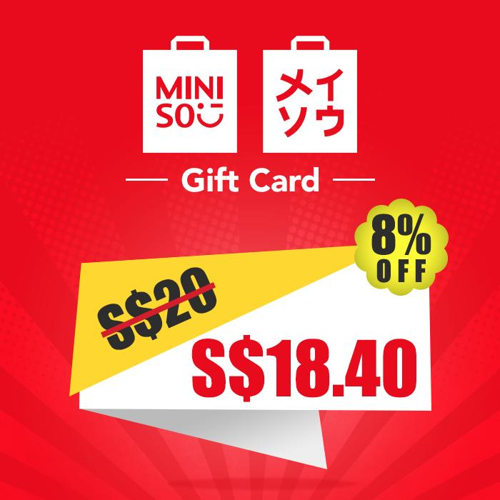 Miniso Gift Card Sgd 20 By Mooments - Digital Gift Cards.