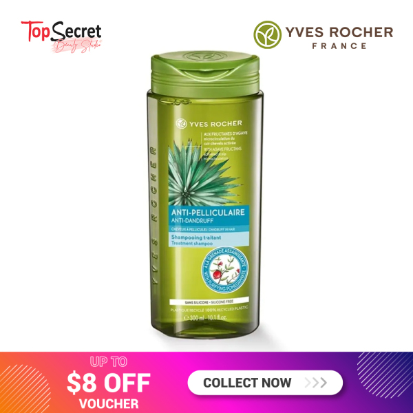 Buy Yves Rocher Anti-Dandruff Shampoo 300ml Singapore