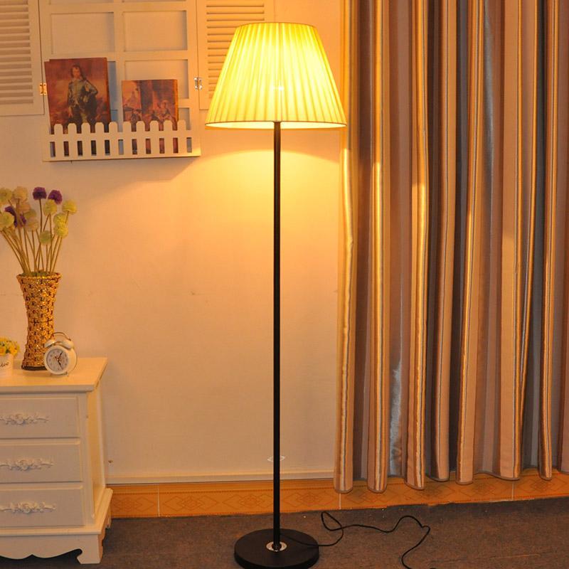Stylish Minimalist Living Room Bedroom Bedside Floor Lamp Creative Warm LED Fabric Table Lamp - intl