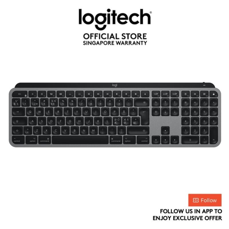 Logitech MX Keys For MAC Advanced Multi-Device Bluetooth Wireless Illuminated Keyboard - EBH Ready Stocks Singapore