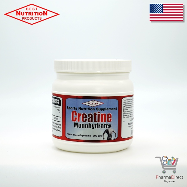 Buy [SG Store] Best Creatine 200gms Made in USA Singapore