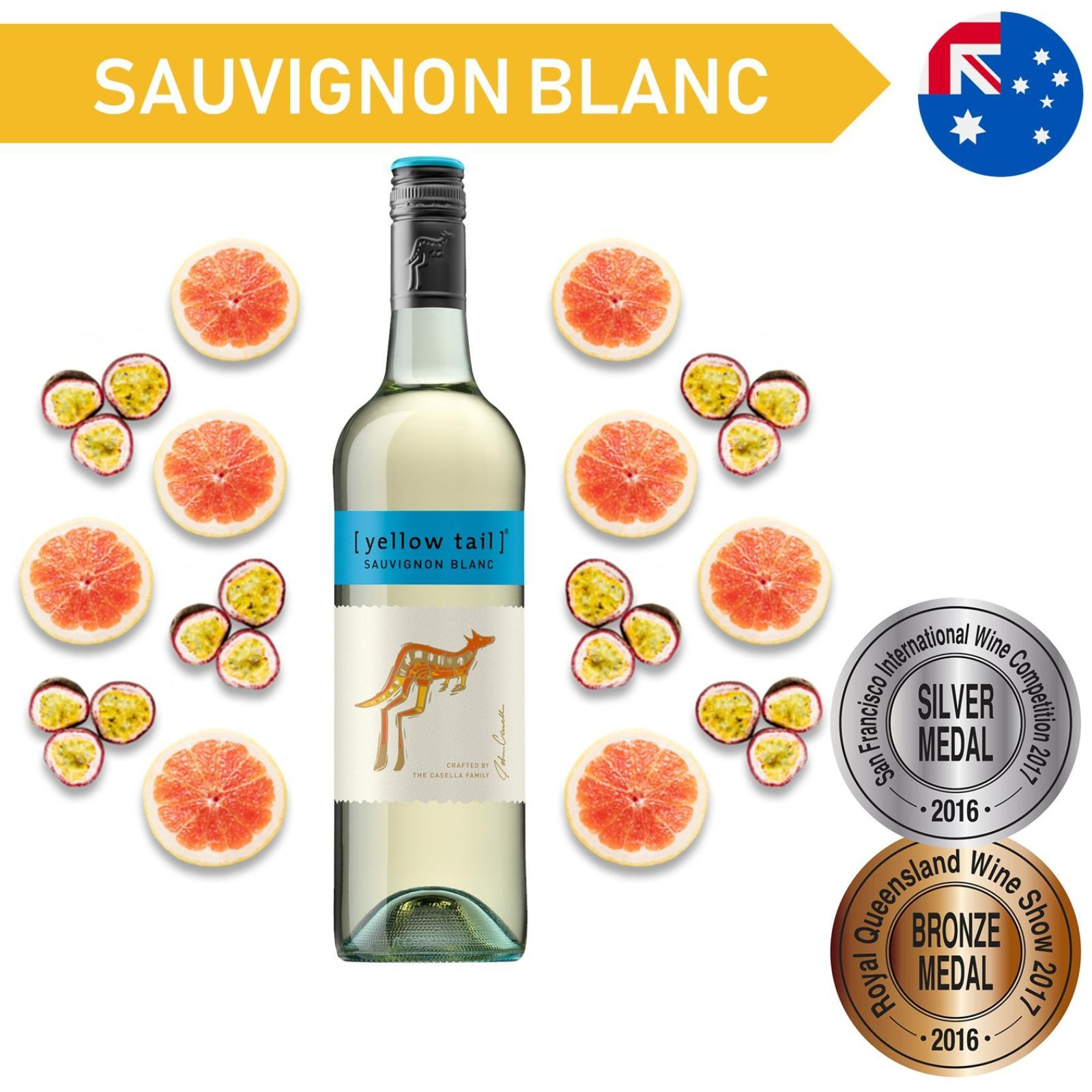 Yellow Tail Sauvignon Blanc White Wine