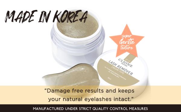 Buy Clione Prime Eyelash Extension Remover Cream - 15gm, No Eyelids Burning/Irritation, Formaldehyde-Free, Unscented Singapore