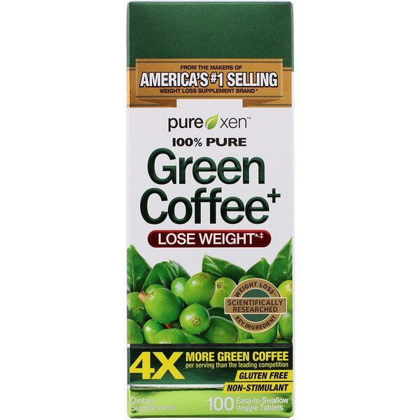 Buy Purely Inspired, Green Coffee+, 100 Easy-to-Swallow Veggie Tablets Singapore