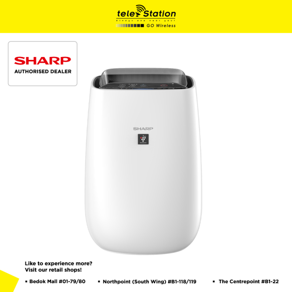 Sharp FP-J40E-W Plasmacluster Air Purifier Singapore