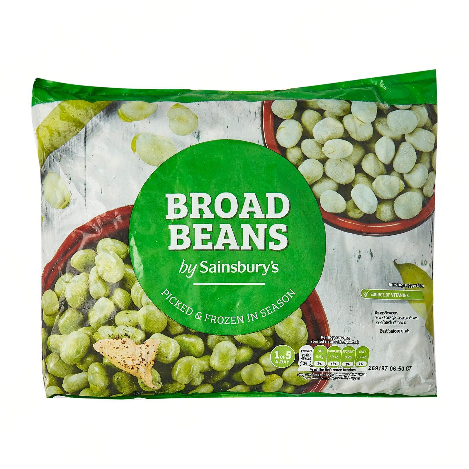 Sainsbury's Broad Beans - Frozen