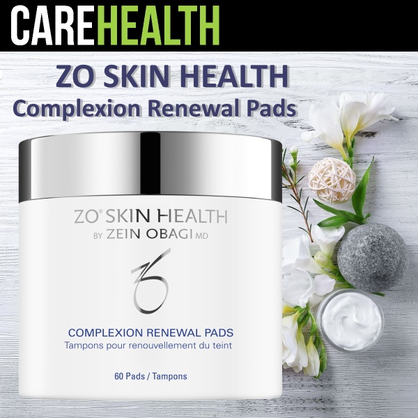 Buy [ ZO Skin Health ] Complexion Renewal Pads / Oil Control Pads - Exfoliating, Minimizes Surface Oil, Calms Irritated Skin Singapore